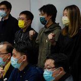 US, Canada, Britain, Australia condemn Hong Kong arrests of activists