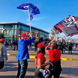 Antifa protesters clash with Trump supporters in Calif.