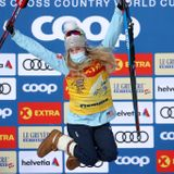 Afton native Jessie Diggins becomes first American to win Tour de Ski