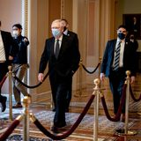 Sen. Mitch McConnell is said to be pleased about impeachment, believing it will be easier to purge Trump from the GOP
