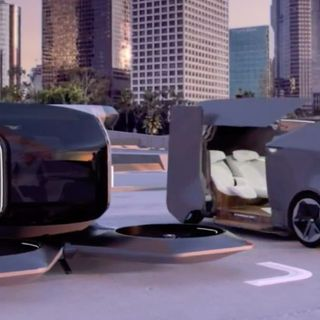 GM surprises with autonomous Cadillac and flying car concepts