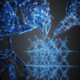 Machine learning accelerates discovery of materials for use in industrial processes