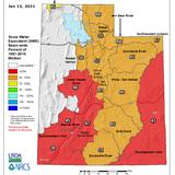 Utah Snowpack Totals