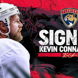 Florida Panthers Agree to Terms with Defenseman Kevin Connauton