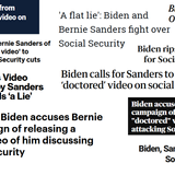 23 Headlines Obscure Biden's Lies About Cutting Social Security