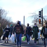 Upset by veterans who stormed the Capitol, these vets decided to clean up trash the mob left on the streets of D.C.