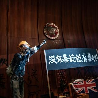 How to understand the symbolic occupation—and destruction—of Hong Kong's legislature