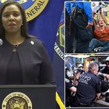 AG Letitia James sues NYPD for 'excessive' handling of BLM protests