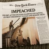 Front pages on Trump's impeachment: 'Again.' - Poynter