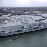 Japan hails U.K. plan to send aircraft carrier group to Asia