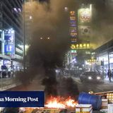 Hong Kong firefighter who took petrol bombs to protest jailed for 34 months