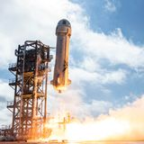 Jeff Bezos' Blue Origin aims to fly first passengers on its space tourism rocket as early as April