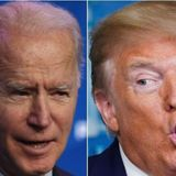 Trump And Biden's Monday Schedules Are Very, Very Different