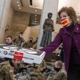 DC pizza shop delivers hundreds of pies to National Guard stationed at the Capitol