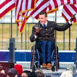 Ex-Military Officer, A Democrat, Calls For 'Domestic War' On Those Like Republican In Wheelchair Who Participated In Trump Rally