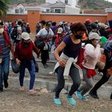 Honduran Migrant Traveling to U.S. Claims Biden Is 'Going to Help All of Us' | National Review
