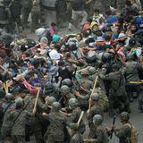 Guatemalan security forces break up US-bound migrant caravan