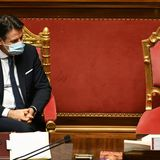 Italy avoids government collapse as Prime Minister Giuseppe Conte survives confidence vote