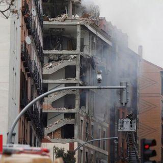 Madrid explosion leaves three dead