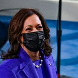 Warriors send a welcoming gift to Vice President Kamala Harris