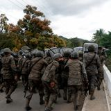 U.S.-bound caravan thwarted in Guatemala as pressure against migrants continues