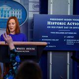 Biden press secretary Jen Psaki holds first news conference, vows to rebuild 'trust' with media, public