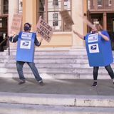 Dancing mailboxes celebrate inauguration in most Berkeley way possible