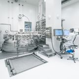 Inside one of the new, quick-build factories making the Moderna vaccine