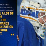 Ullmark opens up about absence from past 2 Sabres games