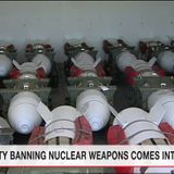 UN nuclear weapons ban treaty takes effect | NHK WORLD-JAPAN News