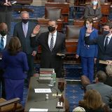 Democrats officially control the Senate after final members are sworn in