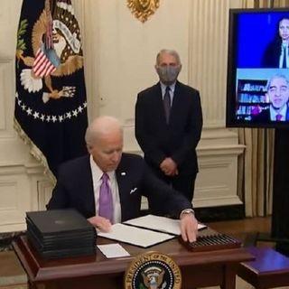 'Masks? What masks?' Biden and Crew Take 'Em Off on U.S. Federal Property, Despite his Own Order to Wear Masks