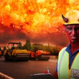 Devil Requests Stimulus Funds To Widen The Road To Hell To Meet Increased Demand