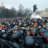 2,600 arrested at Russian protests demanding release of Putin critic Navalny