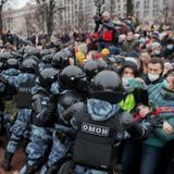 Alexei Navalny's wife among thousands arrested at anti-Kremlin protests | CBC News