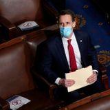 Hawley files ethics counter-complaint against seven Dem senators