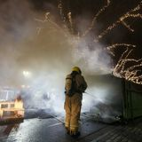 Dutch police use tear gas, water cannon amid rioting
