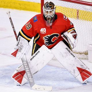 Talbot wants chance to be No. 1 goalie, willing to leave Flames: report