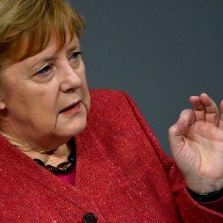 Merkel sides with Xi on avoiding Cold War blocs
