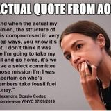 Is This a Transcript from a Radio Interview with U.S. Rep. Ocasio-Cortez?