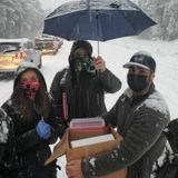 US healthcare workers stuck in snowstorm with expiring vaccines give shots to stranded drivers