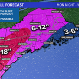 "Most of Maine to see 6-12"" of snow with Groundhog Day nor'easter"