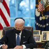 PolitiFact - Facebook post laments Biden's first actions with false claims