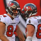 Cameron Brate: Rob Gronkowski is a joy to be around and I love being his teammate - ProFootballTalk