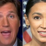 Tucker Carlson Launches Yet Another Ugly Attack On Alexandria Ocasio-Cortez
