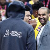 Lakers' Jared Dudley explains LeBron James' response to Daryl Morey