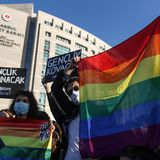 Turkey's President says 'there's no such thing as LGBT' and calls student protesters 'terrorists'