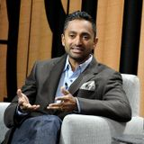 Silicon Valley billionaire Chamath Palihapitiya: would-be governor just for a moment