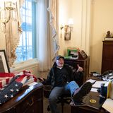 Pelosi desk sitter pleads not guilty in Capitol riot