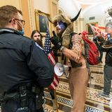Self-proclaimed 'QAnon Shaman' who wore horns in US Capitol riot moved to Virginia jail